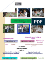 Aprendizajes de Las Ciencias EBR
