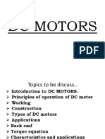 Dc Motors Ppt