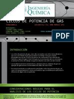 Ciclos de Potencia de Gas, Present.