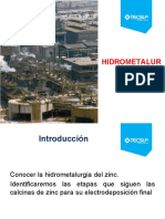 Unidad 6 1 Hidrometalurgia Del Zinc (2)