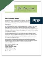 runes manual