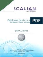 Catalogue Formation SCALIAN SIMULIA 2018