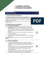 Oinp - Human Capital Docs Checklist