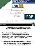 01 Introducción Ingeniería de Reservorios 2017