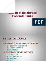 211577041 Design of Reinforced Concrete Water Tanks