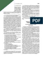 Decreto Regulamentar n. 3-2016 Sub. Ed. Especial