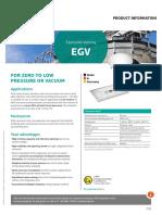 Product Information EGV