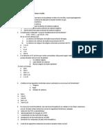 Banco de Preguntas PSU Primero Medio biologia
