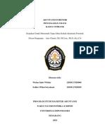 Makalah Fraud Prevention Kasus Citibank