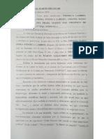 La justicia le prohibió al concejal Del Frari cuestionar el cargo público de Frida Fonseca