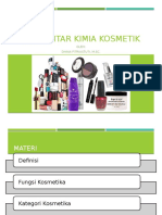 Kosmetik 1. Pengantar Kimia Kosmetik