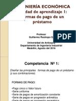 Unidad de Aprendizaje 1. Formas de Pago (Agosto Del 2016)