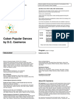 May 13 - CUBA Program