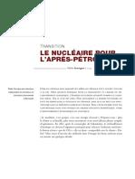2014 - Pablo Servigne - Transition Et Nucleaire 1
