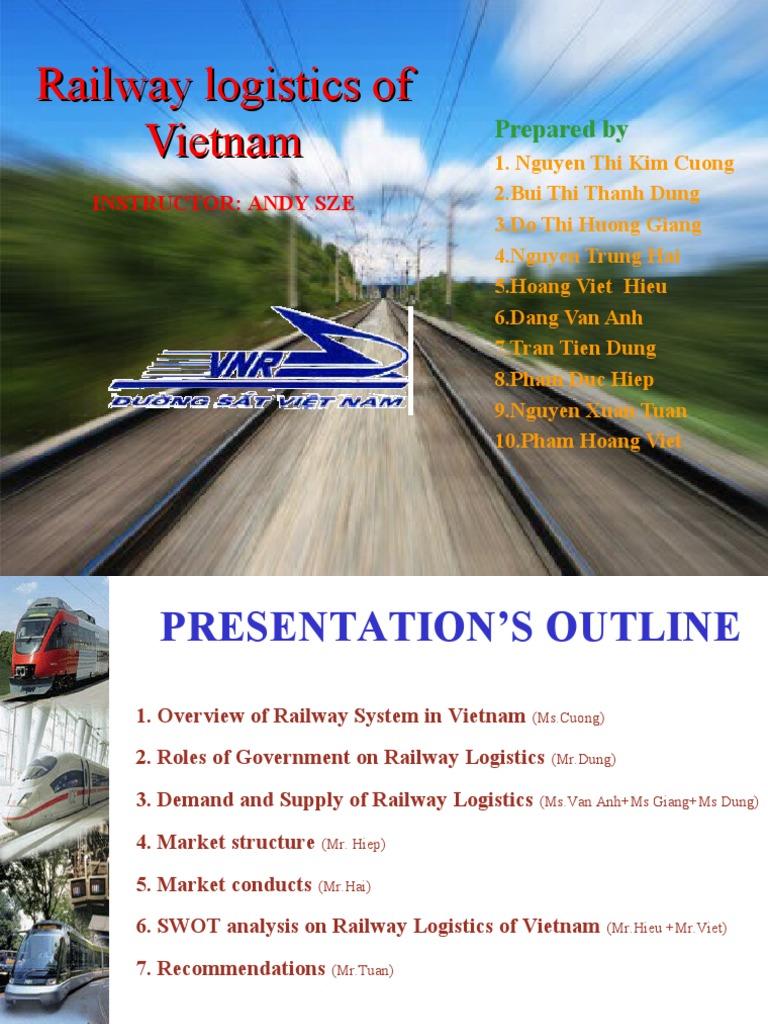 Logistics Railway | Mekong | Track Gauge