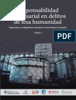 Responsabilidad Empresarial en Delitos de Lesa Humanidad -T 1