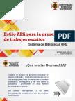 Normas APA VI Edición