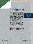 Los derechos humanos frente a la violencia institucional