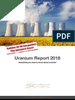Doppelseiten Uranium Report 2018