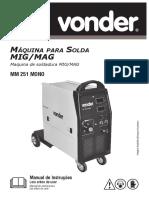 Máquina para Solda MIG/MAG voonder MM 251