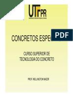 concretos especiais