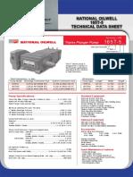 16 RR NOV 165T-5 Technical Data Sheets