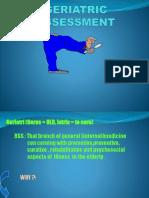 Gerontologi Dan Assessment Geriatri_dr. Yosef Purwoko_Kelas A