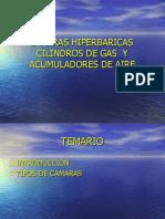 Cámaras Hiperbáricas Cilindros de Gas 1