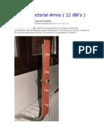 Antena Sectorial Amos ( 12 dBi's )