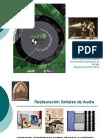 Restauración Señales Audio