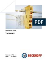 Beckhoff EtherCat TwinSafe Full Application Manual