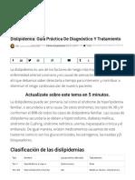 Dislipidemia_ Guía Práctica de Diagnóstico y Tratamiento