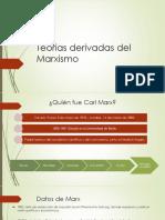 Teorías Derivadas Del Marxismo