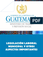 Presentacion Infom -Municipalidades II