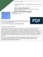 Ward1994 Continuous Process Improvement PAPER
