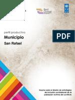 Perfil Productivo San Rafael