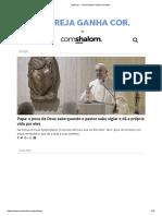 Notícias - Comunidade Católica Shalom