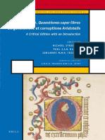 27d20fda5d8ce John Buridan Quaestiones Super Libros de Generatione Et Corruptione  Aristotelis Ed Michiel StreijgerPaul J.J.M. BakkerJohannes M.M.H.