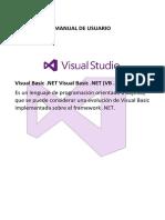 Manual de Usuario Visual Basic.net 2013