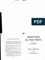 Aristotle in the West (Van Steenberghen)