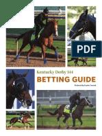 Courier Journal Kentucky Derby betting guide 2018