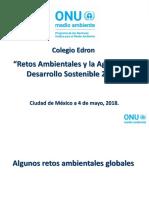 Colegio Edron_Retos Ambientales y La Agenda de Desarrollo Sostenible 2030