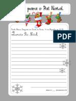 29. Carta Para o Pai Natal