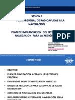 Plan de Implantación Del Sistema de Navegación Para La Región SAM-RadioAyudas-OACI