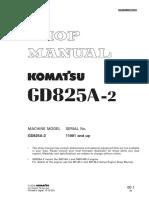 Manual Servicio GD825A-2