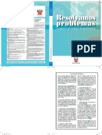 Resolvemos Problemas 5 Cuaderno de Trabajo de Matematica