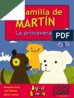 La Familia de Martín, La Primavera. Nimphie Knox, Lita Gómez, María Lemus