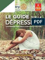 Guide sur la dépression