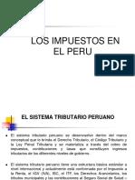 Impuestos en El Peru
