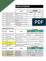 Cotizacion de Implementos - Compuerta de Entrada Final